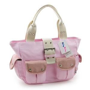 Canvas Styles - Rosa väska (D4102-F). BibuBibu f80a622a7b624