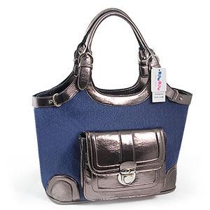 Blå väska (D4305-BL)