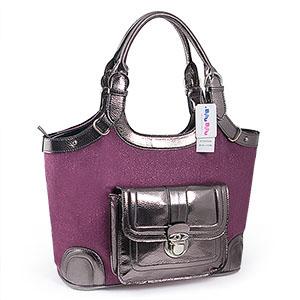 Lila väska (D4305-RD)